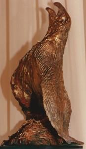 Aquila. Terracotta - 1992