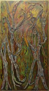 Autunno. Tecnica mista. Impressionismo Informale - 2005