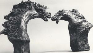 Cavalli. Terracotta - 1990