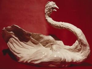 Cigno. Terracotta - 1992