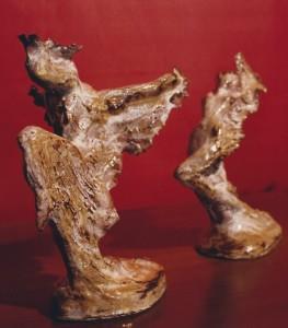 Danzatrici. Ceramica - 1989