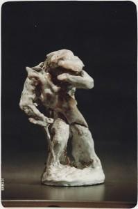 Guerriero. Terracotta - 1990