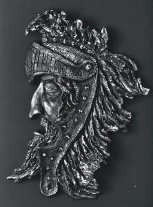 Il Guerriero. Bronzo - 1977. I° Premio Nazionale Scultura Patrocinio Ente Provinciale Turismo Bologna