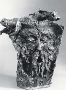 La bocca della Verità. Terracotta - 1991