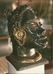 Ricordi Africani. Terracotta - 1985