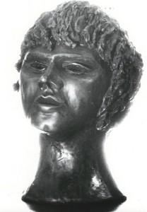 Ritratto. Bronzo - 1985